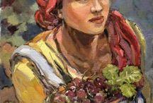 AVIVA  Maree SA. Painter