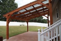 Carport/parking area ideas / House and garden