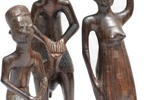 African Art & Artifacts / African art pieces and sculptures are unique in its own way.