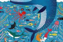 Zvířata ilustrace