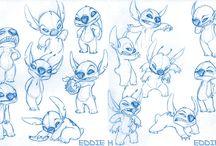 Lilo & Stitch- Art