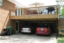2 story deck and carport