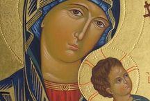 Äiti ja lapsi, ikonit