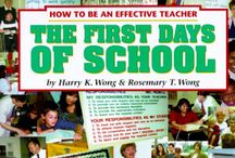 First Days of School / Ideas and resources for preparing for the first days of school. #FirstDayofSchool