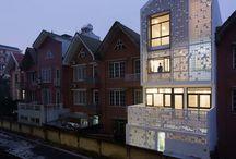 Row house elevation