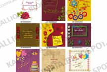 Ευχητήριες κάρτες για ονομαστική γιορτή και γενέθλια / Ευχητήριες κάρτες για ονομαστική γιορτή και γενέθλια  Ευχετήριες κάρτες, Nameday and birthday greeting cards  ΚΑΛΛΙΟΠΕΙΑ