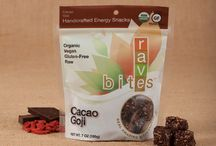 Our Flavors / All seven of our flavors are #glutenfree #organic and #vegan. www.ravebites.com