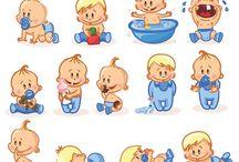 Cartoon Cute Baby, Children, Kids Vector / Art, Artwork, baby, Beauty, bebek, Birthday, boy, Cartoon Characters, Character, cheerful, child, çocuk, Collection, comic, Cute, emotion, face, Figure, Fun, Girl, Graphic, Happy, head, Icon, joy, karikatür, Kid, milk, Object, oyuncak, set, smile, toys