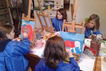 schilderles voor kinderen