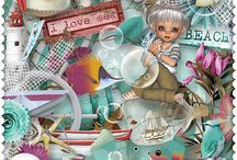Summer days by Pat's Scrap / http://scrapfromfrance.fr/shop/index.php?main_page=index&manufacturers_id=77  http://www.digiscrapbooking.ch/shop/index.php?main_page=index&manufacturers_id=152