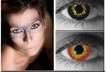 Werewolf Contact Lenses / Werewolf contact lenses - slip in some werewolf contacts… get down on all floors… lift your head up… and HOWL!  Releasing your inner animal, and letting go of all inhibitions.