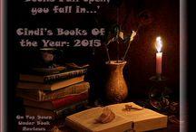 Books of the Year, 2015: Cindi / December 16th. OTDU Books of the Year.