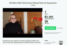 EQ Wear Kickstarter / Please support the EQ Wear Kickstarter Campaign! kickstarter.com/projects/975381701/eq-wear-high-performance-riding-pants-for-equestri
