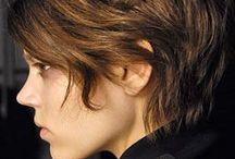 cabelos castanhos e marrons