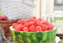Frutas decoração