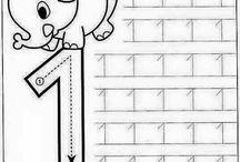 çizgi çalışmaları rakamlar