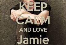 <3 Keep calm: Jamie Bell <3