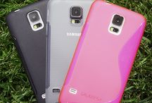 TPU Galaxy S5 Collection / This Premium TPU soft case provides excellent protection for the Samsung Galaxy S5 with its form-fitting thermoplastic polyurethane construction.  / by Naztech