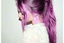 dyed hair •purple•