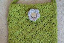 Crochet shoulder bag / Crochet