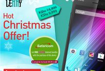 Christmas Promotion / Exciting Lenny Smartphone Christmas Offer by Wiko