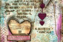Art journal mixed media