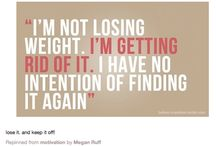 Inspiration for weight loss