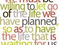 Inspirational words. / by Carol Doody
