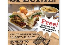 Client Board - Joe's Deli / The Joe's Deli campaign has been a grassroots approach, working with Joe to focus on local neighborhoods with a new social media push and advertising in order to raise awareness and boost sales for their various locations.