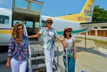 Maya Island Air VIP's / Celebrities flying with Maya Island Air!