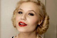 1950's make up / Love these looks x