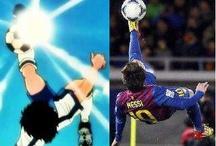 nothing / Messi like Tsubasa