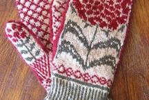 warm woolen mittens / by Pamela Walker