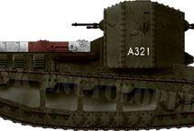 ARMOURED VEHICLE WW1