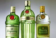 Gin in Green Bottles