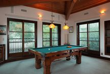 famous people pool table rooms