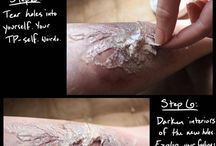 Wound make up