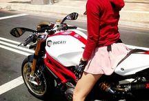 girl AND bike