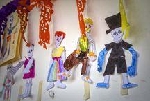 Creatividad Infantil en Creativos / Arte y trabajos de los alumnos del Colegio Creativos Cancún.