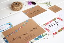 Stationery // Wedding Invitations / Exquisite event stationery