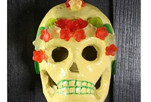 Day of the Dead Art by WhiteRose's Art / Art inspired by Dia de los Muertos (Day of the Dead).  This theme was retired in 2016.