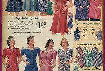 Forties maternity clothing