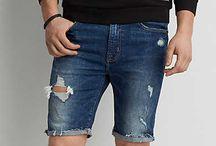 Shorts Mezclilla