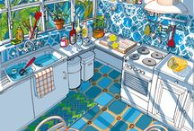 interior illustrations