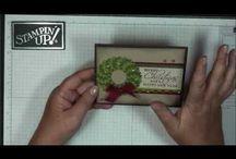 Christmas wreath cards / .