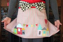 Aprons/Kitchen Acessories / by Cinda Bryant