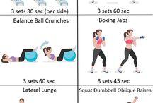 trænings øvelser