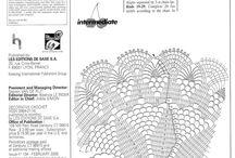 Serwetki szydełkowe - same schematy