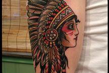 Tattoo: Indios