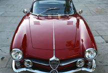 """Old Sport Cars - Alfa Romeo / Most are AR Bertone even described as """"Giulia"""" what is not correct. The AR Giulia was a *normal"""" 4-5 seat car and not a coupe."""
